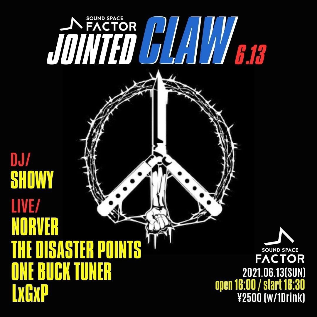 """-NORVER pre.- """"JOINTED CLAW"""""""