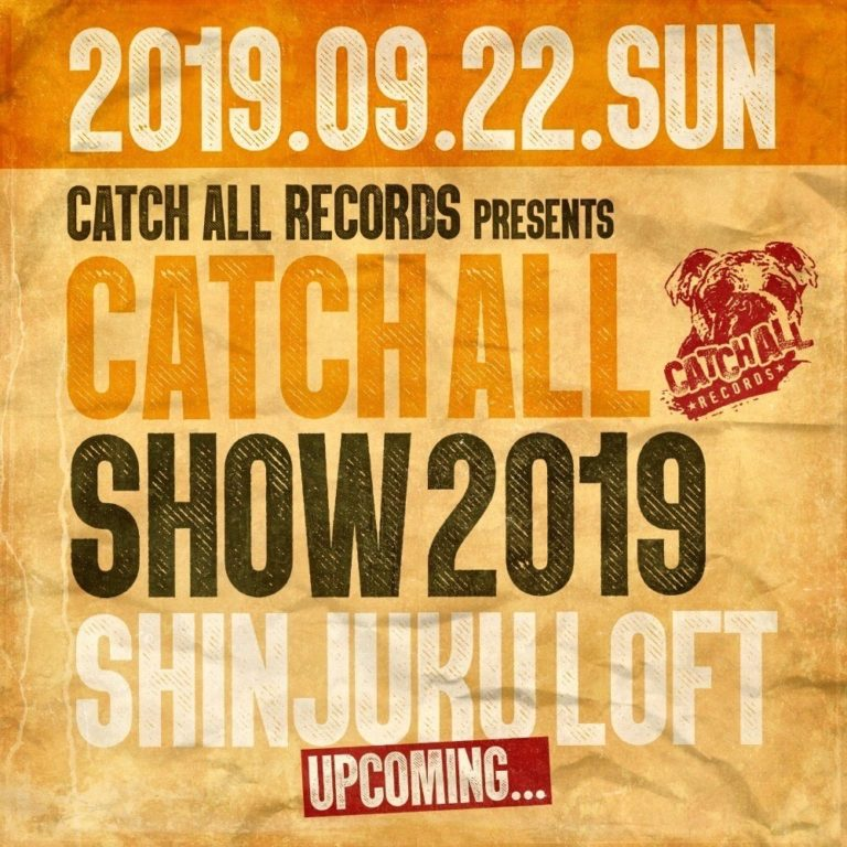 CATCH ALL SHOW 2019 開催発表