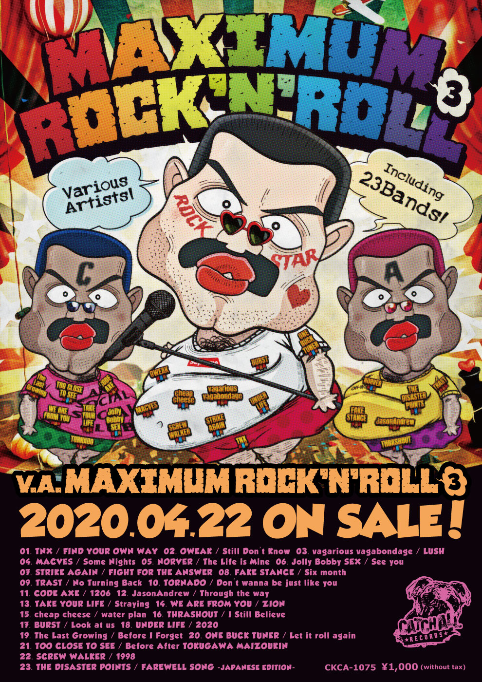 V.A. / MAXIMUM ROCK'N'ROLL 3 発売決定